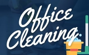 office cleaning services menu