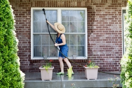cleaning your patio yourself