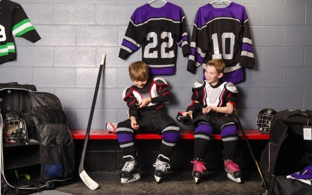 Hockey Equipment Cleaning Infographic