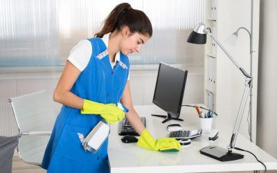 How to Create a Cleaning Routine to Keep Your Office Sparkling